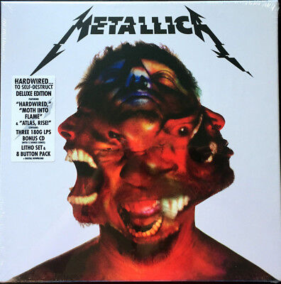 METALLICA Hardwired..To Self-Destruct Deluxe Edition vinyl 3LP+CD box NEW/SEALED