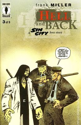 Sin City Hell and Back #3 1999 NM Stock Image