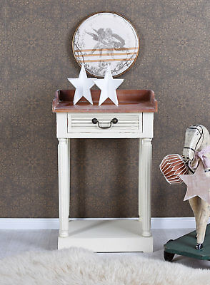 Bedside Table Console Table Shabby Chic Bedside Table Bedside console Vintage