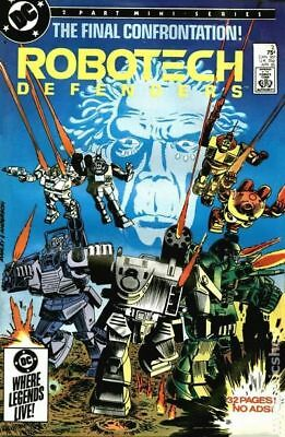 Robotech Defenders #2 1985 VF Stock Image