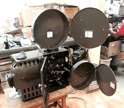 Simplex Acme Semi Portable 35mm Projector outfit Rebuilt W/ Dolby Stereo & More