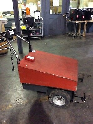 Dane Industries Battery Powered Shopping Cart Collector Pusher With Remote