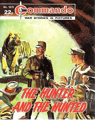 The Hunter And The Hunted 1870 1985 64090 Commando Comic War Stories In Pictures