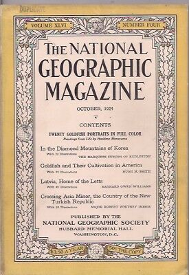 national geographic-OCT 1924-CROSSING ASIA MINOR,THE COUNTRY OF THE NEW TURKISH.