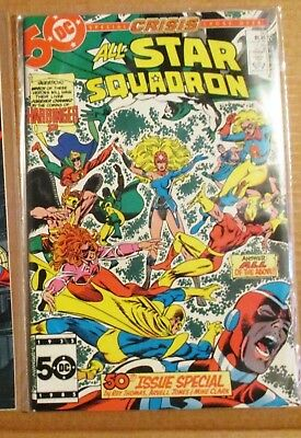ALL-STAR SQUADRON 50 51 52 53 54 55 56 57 58 59 60 (Crisis on Infinite Earths)