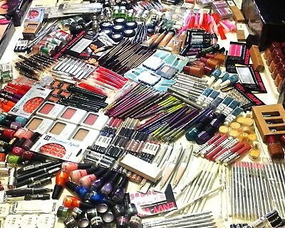 100 x MAKEUP BUNDLE COSMETICS JOBLOT WHOLESALE RETAIL SHOP STOCK REVLON RIMMEL