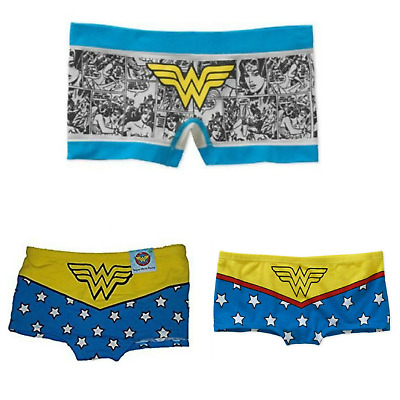 DC Comics WONDER WOMAN Womens Super Hero Boyshort Panty