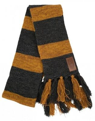 Harry Potter Fantastic Beasts Newt Scamander Knit Hufflepuff Scarf Costume NEW