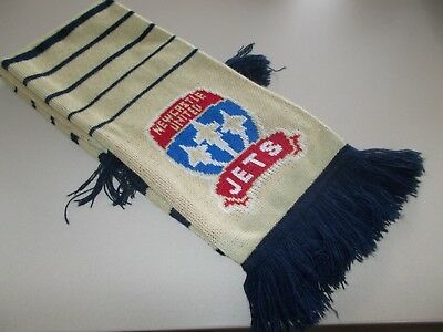Newcastle Jets - Football Scarf - Official Product - Gold / Navy Blue-A-League
