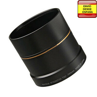 Adaptador de filtros Step Down 65mm a 62mm para Nikon CoolPix 8800 RT6265T/W