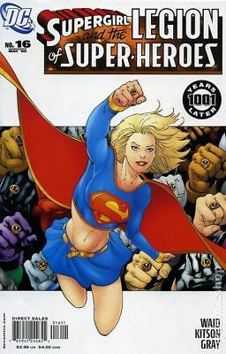 Supergirl and The Legion of Super-Heroes #16A 2006 VF Stock Image