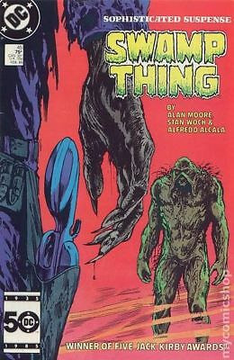 Swamp Thing (2nd Series) #45 1986 FN Stock Image