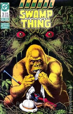 Swamp Thing (2nd Series) Annual #3 1987 VF Stock Image