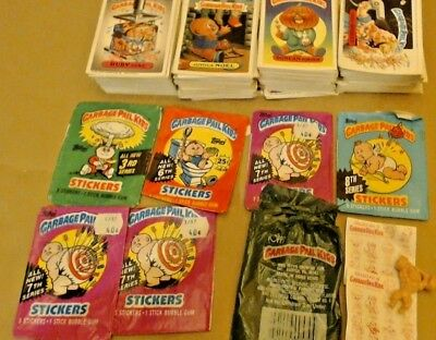 Garbage Pail Kids 1985-1988 Multi Series DIECUT Lot of 300 Cards Packs Cheap Toy