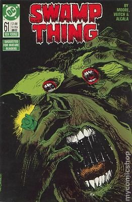 Swamp Thing (2nd Series) #61 1987 FN Stock Image