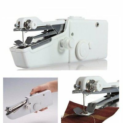 Mini Singer Stitch Portable Household Handy Electric Handheld Sewing Machine CA