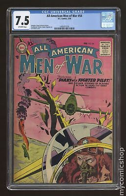 All American Men of War #54 1958 CGC 7.5 1495411016
