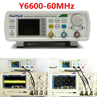 FeelTech 60MHz FY6600 Function Arbitrary Waveform Pulse DDS Signal Generator