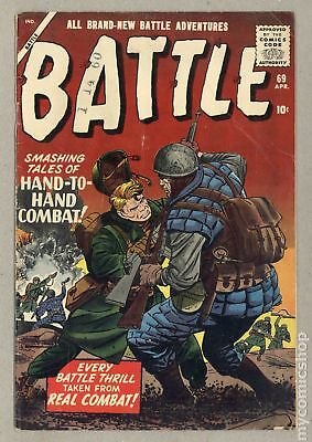 Battle (Atlas) #69 1960 GD/VG 3.0