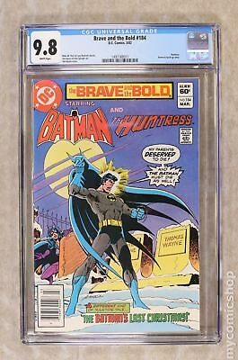 Brave and the Bold (1st Series DC) #184 1982 CGC 9.8 1497188011
