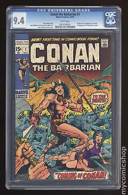 Conan the Barbarian (Marvel) #1 1970 CGC 9.4 0913195001