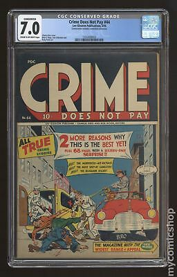 Crime Does Not Pay #44 1946 CGC 7.0 CONSERVED 1355858003