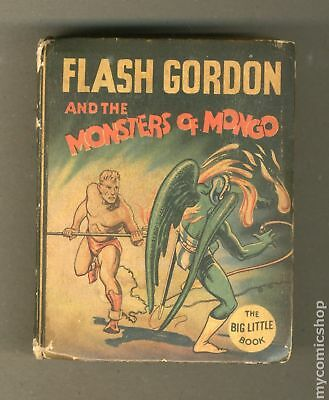 Flash Gordon and The Monsters of Mongo Big Little Book #1166 1935 GD/VG 3.0