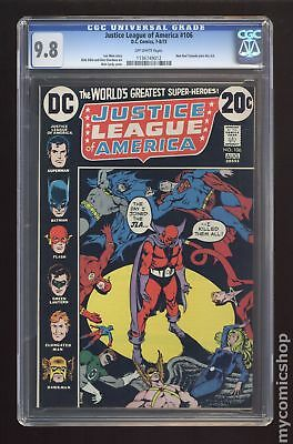 Justice League of America (1st Series) #106 1973 CGC 9.8 1136749012