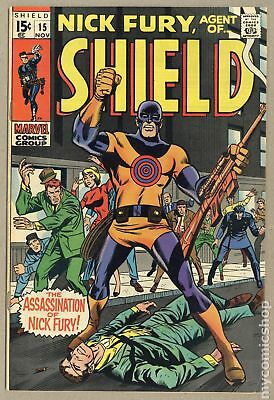 Nick Fury Agent of SHIELD (1st Series) #15 1969 FN+ 6.5