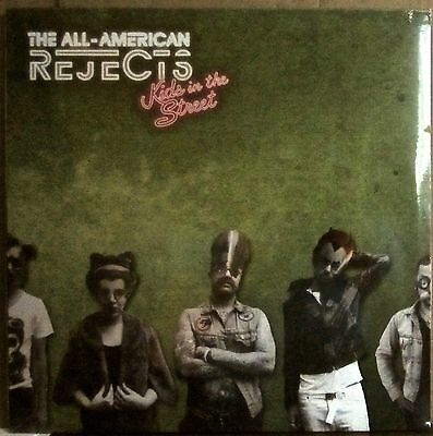 THE ALL AMERICAN REJECTS Kids In The Street 2012 lp SEALED