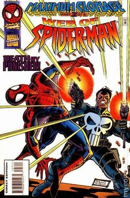 Web of Spider-Man (1st Series) #127 1995 FN Stock Image