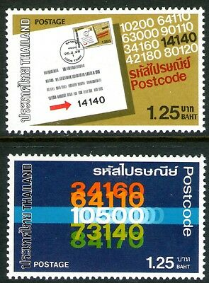 Thailand 1983 Postcodes set of 2 Mint Unhinged