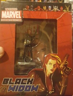 Classic Marvel Figurine Collection BLACK WIDOW EAGLEMOSS VERY RARE !!