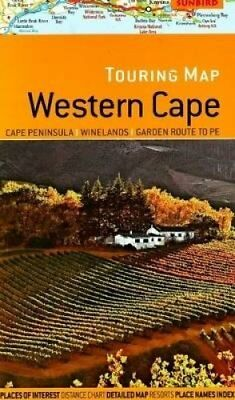 Touring map Western Cape Cape Peninsula; Winelands; Garden Rout... 9781919938851