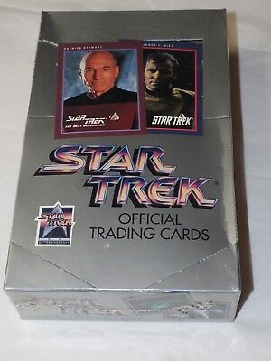 STAR TREK OFFICIAL TRADING CARDS 25th anniversary sealed box Impel 1991