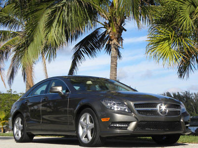 2013 Mercedes-Benz CLS-Class 550-AMG-15K MILES-FINEST ON THE PLANET-ALL THE TOYS 013 MERCEDES CLS550 AMG-EVERY OPTION UNDER THE SUN-ONLY 15K MILES-BEST ANYWHERE