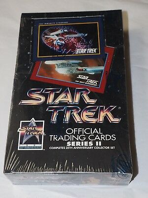 Star Trek SERIES II , Completes the 25th Anniversary , Impel Factory Sealed 1991