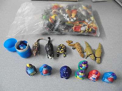 Selection Yowies, Solids and Lge bag bits n pieces Blob Nap Ditty Rumble Squish