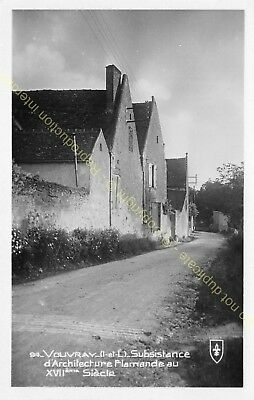 CPSM 37210 VOUVRAY Subsistance architecture Flamande XVII Edit LYS