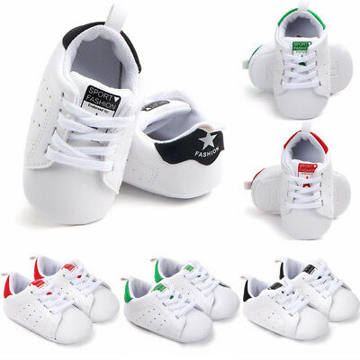 Infant Cute Toddler Sneakers Baby Boys Girls Soft Sole Crib Shoes Newborn 0-18M