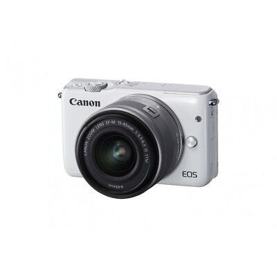 Canon EOS M10 EF-M 15-45 IS STM White Bianco