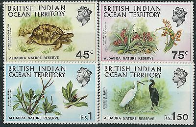 j052) British Indian Ocean Terr. 1971. MNH. SG 36 to 39. Nature Reserve. c£21+