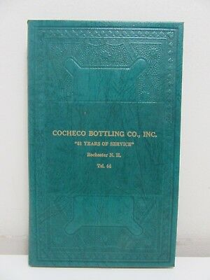 Cocheco Bottling Co., 1951 Daily Calendar Reminder Book, Rochester, N.H.