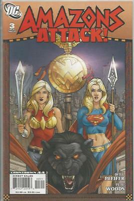Amazons Attack (2007) #3 Back Issue (S)