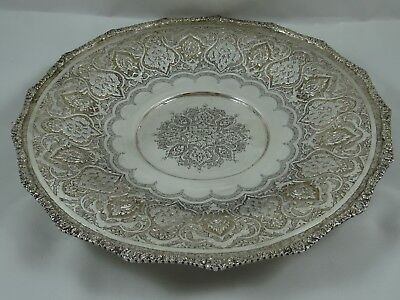 PERSIAN silver FRUIT BOWL  c1930, 531gm
