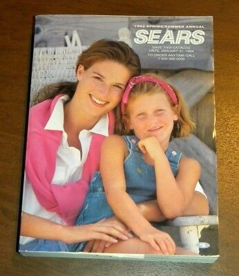 Vintage 1993 Spring/Summer LAST EVER Sears Roebuck Catalog
