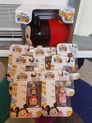 Disney Tsum Tsum Bundle New Mickey Carry Case Series 2 Tsum Tsum