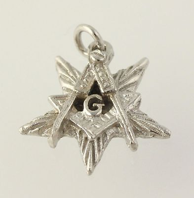 Order of the Eastern Star - Worthy Patron Charm Guard OES Masonic New Old Stock