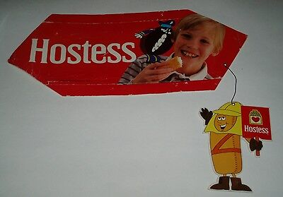 1970's Hostess Cupcake & Twinkies Store Sign w/ Twinkie the Kid - snack cake