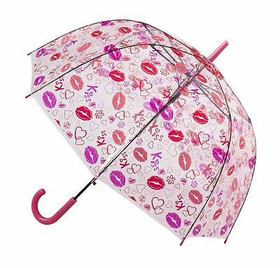 Soake Clear Dome Umbrella - Lips